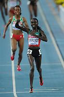 ATHLETICS - IAAF WORLD CHAMPIONSHIPS 2011 - DAEGU (KOR) - DAY 7 - 02/09/2011 - PHOTO : STEPHANE KEMPINAIRE / KMSP / DPPI - <br /> 5000 M - WOMEN - FINALE - GOLD MEDAL - VIVIAN CHERUIYOT (KEN)