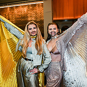 The Sugarcated Sisters attended the Red Carpet Funny Women Awards at the Bloomsbury Theatre, London on 23rd September 2021.