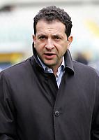 """Il Presidente del Catania Massimo Pulvirenti<br /> Italian """"Serie A"""" 2006-07<br /> 11 Mar 2007 (Match Day 28)<br /> Torino-Catania (1-0)<br /> """"Olimpico""""-Stadium-Torino-Italy<br /> Photographer: Luca Pagliaricci INSIDE"""