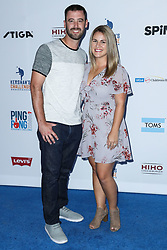 LOS ANGELES, CA, USA - AUGUST 23: 6th Annual PingPong4Purpose held at Dodger Stadium on August 23, 2018 in Los Angeles, California, United States. 23 Aug 2018 Pictured: Dylan Floro. Photo credit: Xavier Collin/Image Press Agency / MEGA TheMegaAgency.com +1 888 505 6342