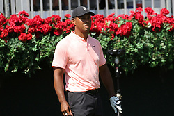 September 20, 2018 - Atlanta, GA, U.S. - ATLANTA, GA - SEPTEMBER 20: Tiger Woods during the first round of the PGA Tour Championship on September 20, 2018, at East Lake Golf Club in Atlanta, GA. (Photo by Michael Wade/Icon Sportswire) (Credit Image: © Michael Wade/Icon SMI via ZUMA Press)