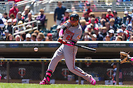 Nick Markakis #21 of the Baltimore Orioles bats against the Minnesota Twins on May 12, 2013 at Target Field in Minneapolis, Minnesota.  The Orioles defeated the Twins 6 to 0.  Photo: Ben Krause