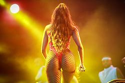 IZA durante a 25ª edição do Planeta Atlântida. O maior festival de música do Sul do Brasil ocorre nos dias 31 Janeiro e 01 de fevereiro, na SABA, praia de Atlântida, no Litoral Norte do Rio Grande do Sul. FOTO: <br /> Diego Vara/ Agência Preview