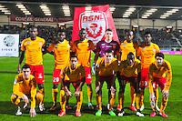 Equipe Nancy - 09.01.2015 - Angers / Nancy - 19eme journee de Ligue 2 <br /> Photo : Philippe Le Brech / Icon Sport