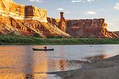 Magic Green Rive Canoe Trip Utah USA