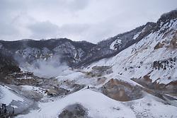 June 22, 2017 - China - Winter scenery of Hokkaido in Japan (Credit Image: © SIPA Asia via ZUMA Wire)