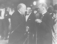 1927 Cecil B DeMille at the premiere of King of Kings at Grauman's Chinese Theater