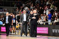 Christophe DENIS / Francois PERONNET - 07.12.2014 - Orleans / Rouen - 11eme journee de Pro A<br />Photo : Fred Porcu / Icon Sport