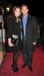 TAMARA ECCLESTONE and ROBERT MONTAGUE at the Cirque du Soleil's gala premier of Quidam held at the Royal Albert Hall, London on 6th January 2009.