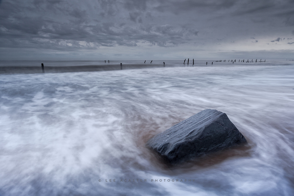 Another one from Saturday morning at Happisburgh, the many failed attempts to hold back the sea defences always make for interesting shots.