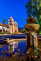 Mission Santa Barbara, Santa Barbara, California USA.