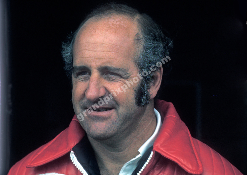 McLaren-Ford driver Dennis Hulme during the 1974 season. Photo: Grand Prix Photo