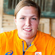 NLD/Scheveningen/20160713 - Perspresentatie judoka's voor de Olympische Spelen 2016 in Rio de Janeiro, Tessie Savelkouls