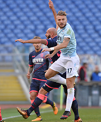 December 23, 2017 - Rome, Italy - Ciro Immobile during the Italian Serie A football match between S.S. Lazio and Crotone at the Olympic Stadium in Rome, on december 23, 2017. (Credit Image: © Silvia Lore/NurPhoto via ZUMA Press)