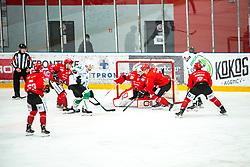 US Zan during Alps League Ice Hockey match between HDD SIJ Jesenice and HK SZ Olimpija on January 2, 2021 in Ice Arena Podmezakla, Jesenice, Slovenia. Photo by Peter Podobnik / Sportida