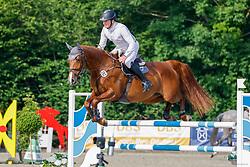 08, Youngster-Springprfg. Kl. M* 6-8j. Pferde,, Ehlersdorf, Reitanlage Jörg Naeve, 15. - 18.07.2021, Michael Ziems (GER), Constanzehof`s Hope,