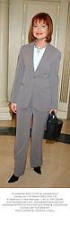 Tv presenter SIAN LLOYD at a reception in London on 11th March 2003.PHW 170