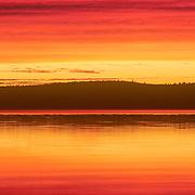 Sunrise on Islesboro. Maine