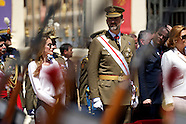 070513 prince felipe and princess letizia military academy at Zaragoza