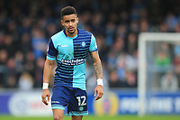 Wycombe Wanderers' Paris Cowan-Hall<br /> <br /> Photographer Kevin Barnes/CameraSport<br /> <br /> The EFL Sky Bet League Two - Wycombe Wanderers v Blackpool - Saturday 11th March 2017 - Adams Park - Wycombe<br /> <br /> World Copyright © 2017 CameraSport. All rights reserved. 43 Linden Ave. Countesthorpe. Leicester. England. LE8 5PG - Tel: +44 (0) 116 277 4147 - admin@camerasport.com - www.camerasport.com