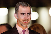 Prince of Asturias Felipe de Borbon in the Opening of ARCO Art Fair in Madrid