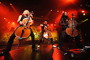 Apocalyptica performs at Nokia Theater in New York City on August 24, 2010. Copyright © Chris Owyoung. All Rights Reserved.