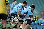 John Ulugia. Waratahs v Hurricanes. 2012 Super Rugby round 15 match. Allianz Stadium, Sydney Australia on Saturday 2 June 2012. Photo: Clay Cross / photosport.co.nz