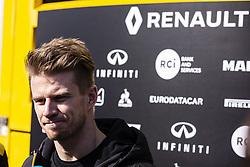 February 21, 2019 - Barcelona, Barcelona, Spain - Nico Hulkenberg from Germany with 27 Renault F1 Team RS19 portrait during the Formula 1 2019 Pre-Season Tests at Circuit de Barcelona - Catalunya in Montmelo, Spain on February 21. (Credit Image: © Xavier Bonilla/NurPhoto via ZUMA Press)