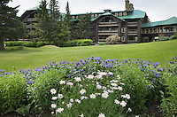 Historic Glacier Park Lodge, East Glacier Montana
