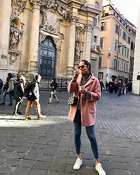 """Ana Ivanovic releases a photo on Instagram with the following caption: """"Just thinking of lovely time we had in Rome \ud83c\uddee\ud83c\uddf9 for New Year\u2019s Eve \ud83e\udd73\ud83c\udf68"""". Photo Credit: Instagram *** No USA Distribution *** For Editorial Use Only *** Not to be Published in Books or Photo Books ***  Please note: Fees charged by the agency are for the agency's services only, and do not, nor are they intended to, convey to the user any ownership of Copyright or License in the material. The agency does not claim any ownership including but not limited to Copyright or License in the attached material. By publishing this material you expressly agree to indemnify and to hold the agency and its directors, shareholders and employees harmless from any loss, claims, damages, demands, expenses (including legal fees), or any causes of action or allegation against the agency arising out of or connected in any way with publication of the material."""