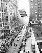 Y-511115-08. General MacArthur parade on SW Broadway. November 15, 1951