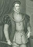 Thomas Howard, 4th Duke of Norfolk (1536-1572). A Roman Catholic, he plotted against Elizabeth I. Executed for treason.