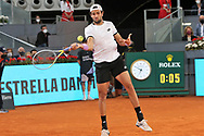Matteo Berrettini of Italy during the Men's Singles Final match against Alexander Zverev of Germany at the Mutua Madrid Open 2021, Masters 1000 tennis tournament on May 9, 2021 at La Caja Magica in Madrid, Spain - Photo Laurent Lairys / ProSportsImages / DPPI