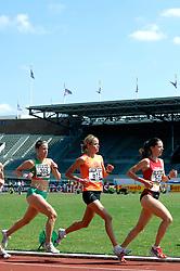 08-07-2006 ATLETIEK: NK BAAN: AMSTERDAM<br /> 5000 meter met Selma Borst (515)<br /> ©2006-WWW.FOTOHOOGENDOORN.NL