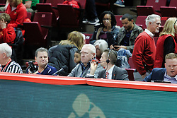 NORMAL, IL - December 16: Steve Adams during a college basketball game between the ISU Redbirds and the Cleveland State Vikings on December 16 2018 at Redbird Arena in Normal, IL. (Photo by Alan Look)