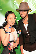 Nana N.Yoshida and Kisha B at The Tanqueray 3rd annual Style Sessions tour, making its tenth stop with a grande finale in NYC on May 29, 2008 at The Metropolitan Pavillion...Tanqueray Style Sessions is a private, invite-only affair showcasing limited edition apparel by Tanqueray?s partnering brands such as Marc Ecko, New Era, and Zero Halliburton. Responsible trendsetters, who don the culture, will experience an evening of music, art and fashion while discovering the three styles of Gin; London Dry, No. Ten and Rangpur.