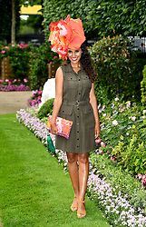 Layla Romic during day one of Royal Ascot at Ascot Racecourse