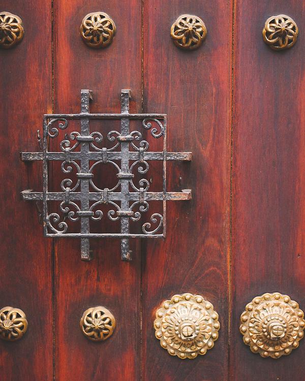 Door to house in Guatemala