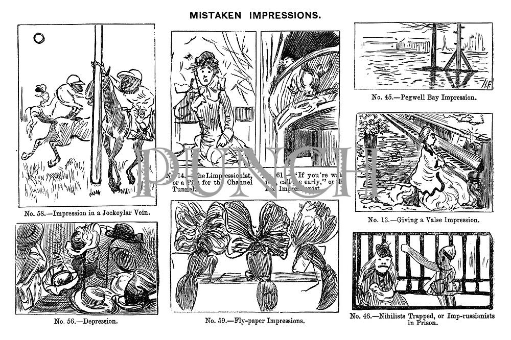 Mistaken Impressions. .