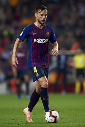 October 20, 2018 - Barcelona, Catalonia, Spain - Ivan Rakitic during the week 9 of La Liga match between FC Barcelona and Sevilla FC at Camp Nou Stadium in Barcelona, Spain on October 20, 2018. (Credit Image: © Jose Breton/NurPhoto via ZUMA Press)