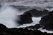 Rocky coastline of Ucluelet, BC