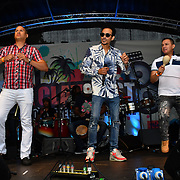 Rene Alvarez Y and The Cuban Combination performs at the La Clave Fest 2019: Free Latin Festival in London with live performances great food and drinks and beautiful people at Finsbury park on 3 August 2019, London, UK.