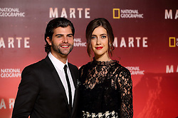 November 8, 2016 - Roma, RM, Italy - Argentine actress Clara Alonso with Spanish actor Diego Dominguez during Red Carpet of the premier of Mars, the largest production ever made by National Geographic  (Credit Image: © Matteo Nardone/Pacific Press via ZUMA Wire)