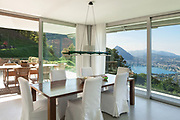 Interior of a modern house, nice dining room