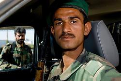 Helmand Province, Lashkargah City. Portrait of ANA soldier.