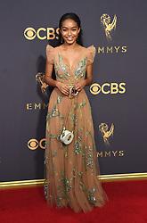 September 17, 2017 Los Angeles, CA Yvonne Strahovski 69th Emmy Awards - Arrivals held at the Microsoft Theatre L.A. Live © OConnor-Arroyo / AFF-USA.com. 17 Sep 2017 Pictured: Yara Shahidi. Photo credit: MEGA TheMegaAgency.com +1 888 505 6342