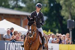LUHMÜHLEN - Longines CCI5*-L/CCI4*-S Meßmer Trophy<br /> Deutsche Meisterschaften 2021<br /> <br /> AUFFARTH Sandra (GER), Viamant du Matz<br /> Teilprüfung Springen Deutsche Meisterschaft<br /> CCI4*-S Meßmer Trophy<br /> Show Jumping<br /> Competition counts for the German Championships 2021 <br /> <br /> Luhmühlen, Turniergelände<br /> 20. June 2021<br /> © www.sportfotos-lafrentz.de/Stefan Lafrentz