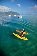Kaneohe Bay, Windward Oahu, Hawaii