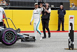 October 20, 2018 - Austin, United States - Motorsports: FIA Formula One World Championship; 2018; Grand Prix; United States, FORMULA 1 PIRELLI 2018 UNITED S GRAND PRIX , Circuit of The Americas#44 Lewis Hamilton (GBR, Mercedes AMG Petronas F1 Team) (Credit Image: © Hoch Zwei via ZUMA Wire)