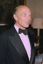 SIR MICHAEL BUTLER  at a dinner in London on 2nd October 1997.MBW 35